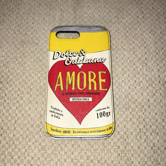 separation shoes 0bc47 55e6f Dolce & Gabbana IPhone 7/8 Plus case (authentic)